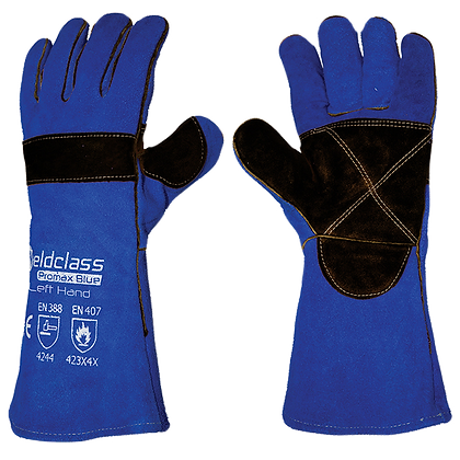 Promax Blue & Black Kevlar Stitched Welding Gloves