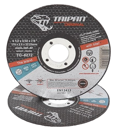 "Taipan Inox Cutting Disc 115mm (4.5"") x 2.5mm"