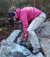 Dees, Hilary, Stone mason, drystone, dry stone, New Hampshire, New York, Vermont, Kansas, rock, stone