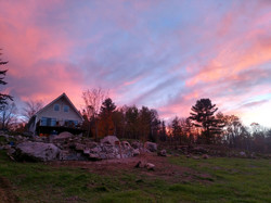 Stonework and sunsets
