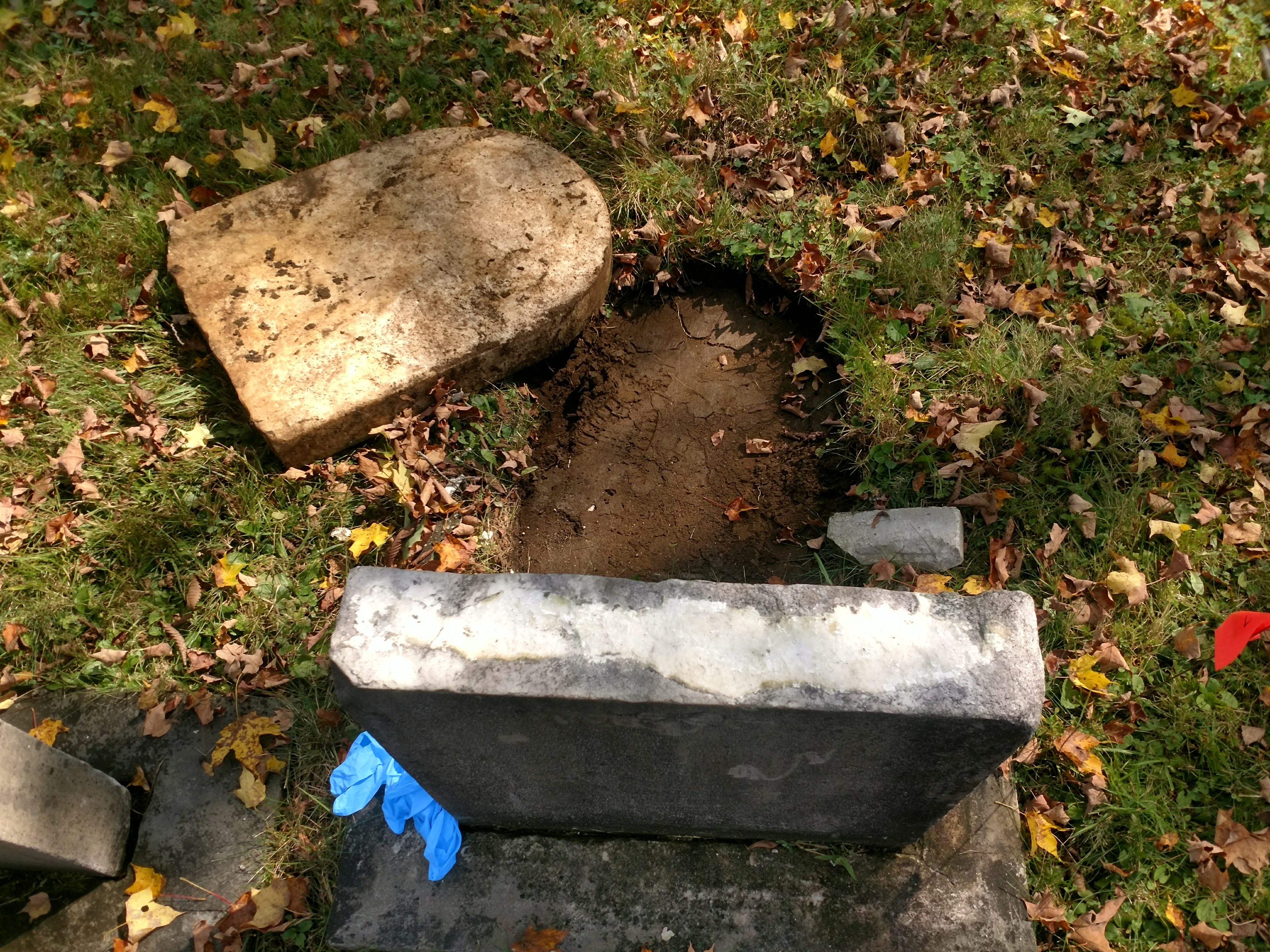 Gravestone repair