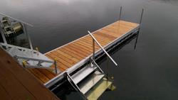 Cedar 4X20 with double stair case