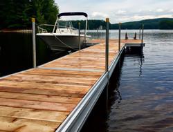 Floating 10x10 Cedar Patio