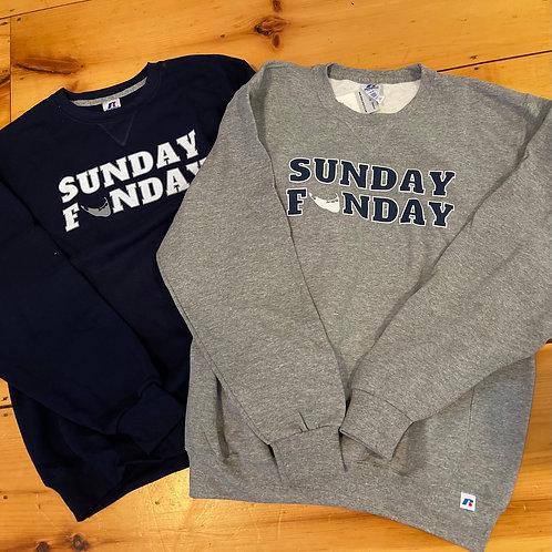 Sunday Funday Nantucket Crewnecks (2 Colors Available!)