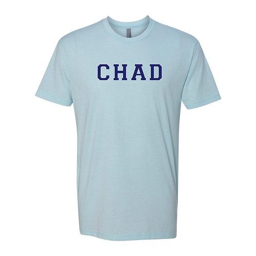 Chad T-Shirt Heather Ice Blue