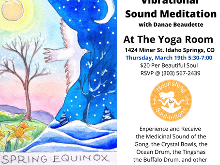 Spring Equinox Vibrational Sound Meditation