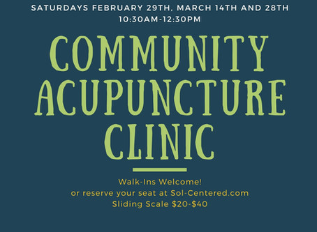 Community Acupuncture at The Yoga Room