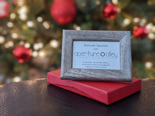 Photo Session Giftcard