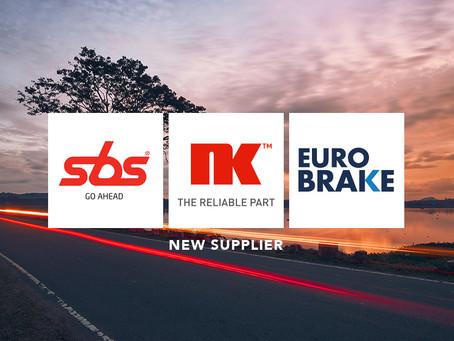 SBS Group (NK & Euro Brake) joins AMERIGO International