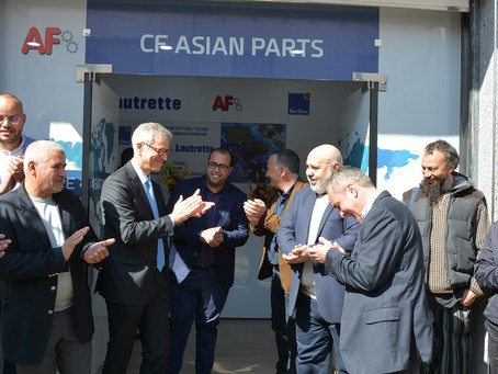 Premier point de vente AF Automotive en Algérie, à Oran