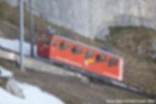 Mount Pilatus cogwheel train by Paula Funnell- Flickr
