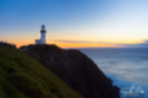 Byron Bay Lighthouse by Theo Crazzolara