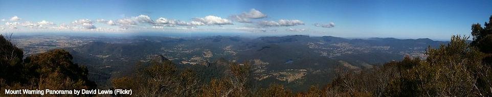 Mount Warning Panorama by David Lewis