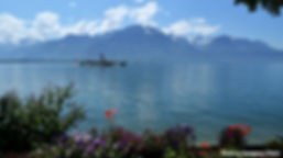 Lake Geneva in Montreux by kaysgeog