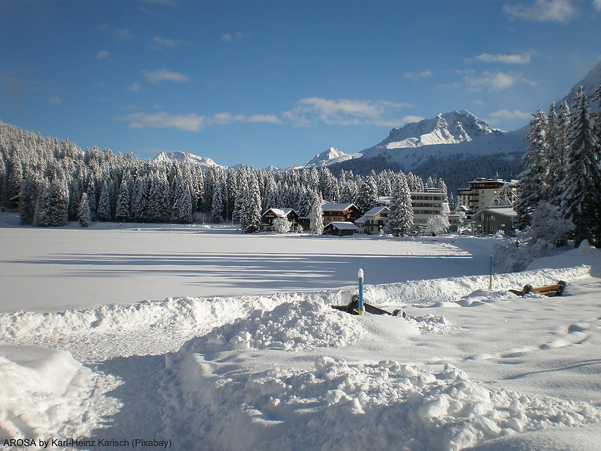 Arosa by the lake