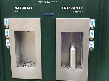 Water station in Rome