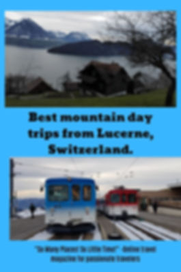 Best mountain day trips from Lucerne, Sw