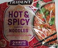 2 minute noodles- popular hiking food
