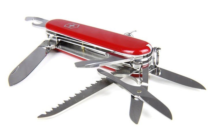 Swiss Army knife Christmas gift