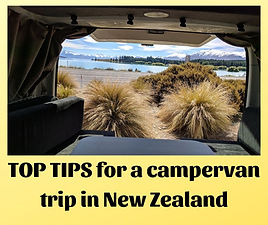 TOP TIPS for a campervan trip in New Zea