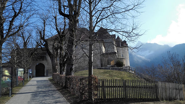 Gruyere medieval castle