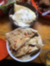 Mongolian food & yak cream