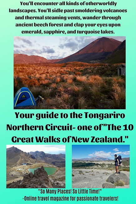 Pinterest 2- Tongariro Northern Circuit.