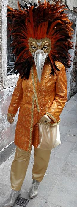 Venice Carnival costumes.