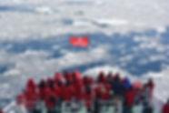 breaking th ice shelf, Antarctic