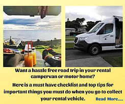 Tips rental campervan collection