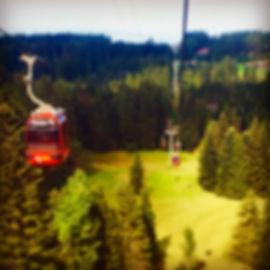Mount Pilatus gondola