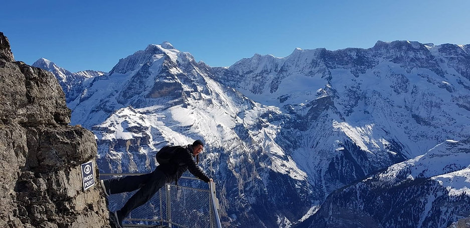 The Thrill Walk in the Swiss Alps