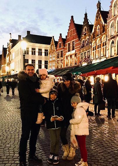 Barcelona to Bruges Christmas Road Trip.
