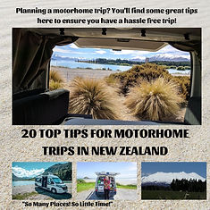 20 TOP TIPS FOR MOTORHOME TRIPS IN NEW Z