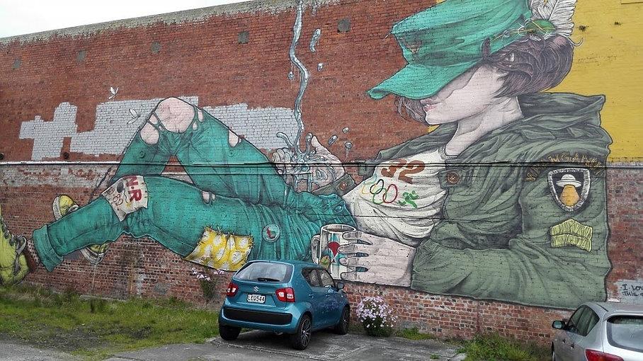 Elliot Francis Stewart- Street Art- Whanganui