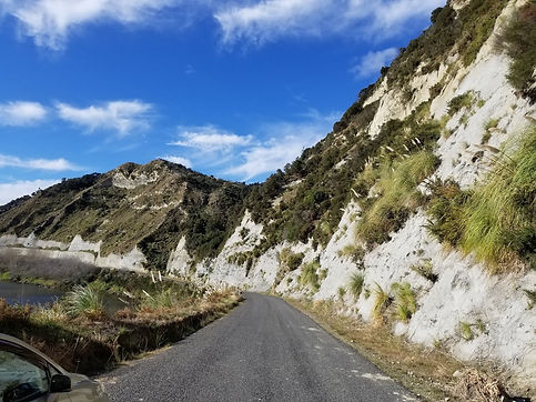 Oyster Cliffs Whanganui River Road