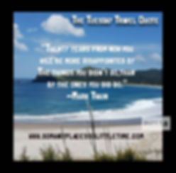 Medlands Beach, Inspiring  Travel QuoteGreat Barrier Island and Inspiring travel quote.