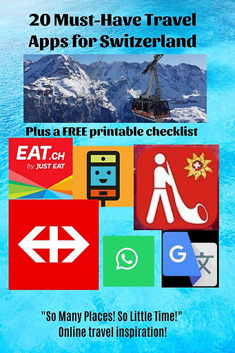 20 Must-Have Travel Apps for Switzerland