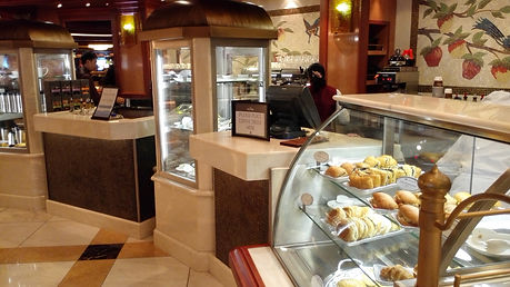 International Cafe tempting offers