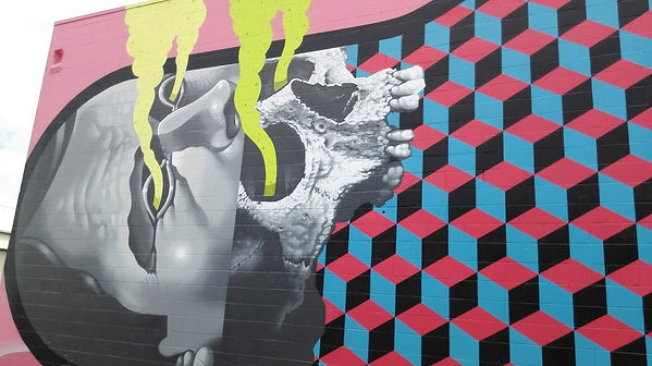 Michael Reeder Mural, Kakaako , Honolulu