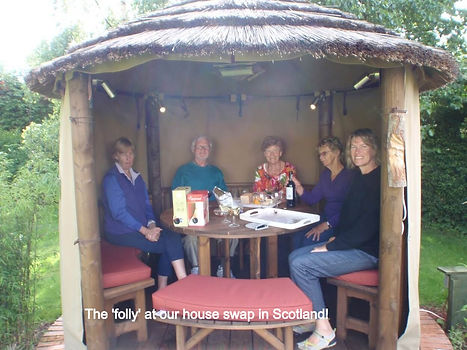 The folly in Scotland house swap