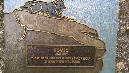 Juneau's statue of Romeo