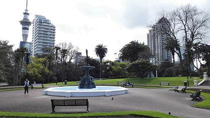 Albert Park Auckland coast to coast walk.