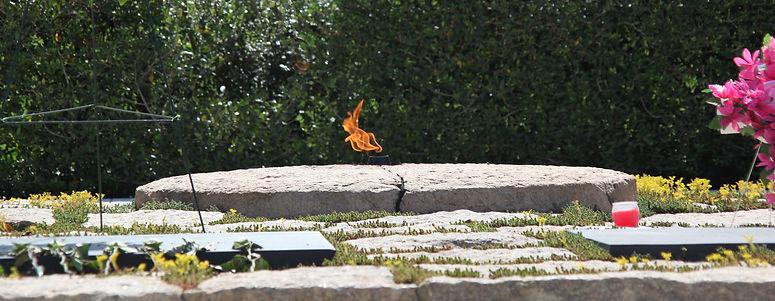 Eternal Flame. Arlington Cemetery, WASHINGTON DC