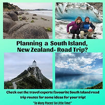 South Island, New Zealand- Road Trip