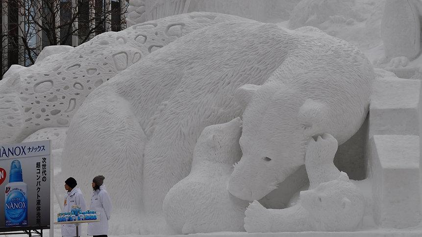 Sapporo Ice Festival by David McKelvey.j