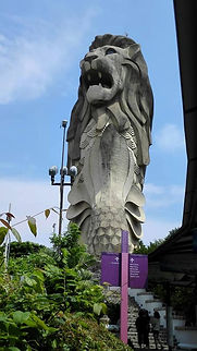 Merlion-official mascot of Singapore