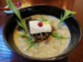 Vegan ramen found in Japan via HappyCow.