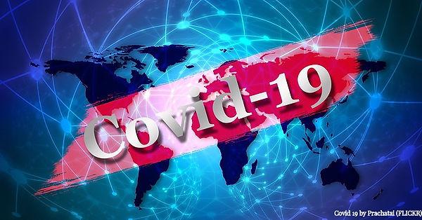 Covid 19 by Prachatel- Flickr