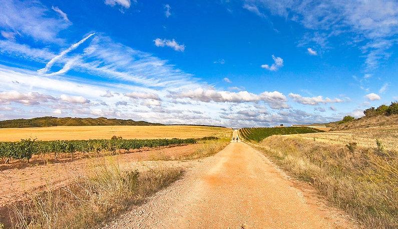 La-Meseta-Camino-Frances-Spain